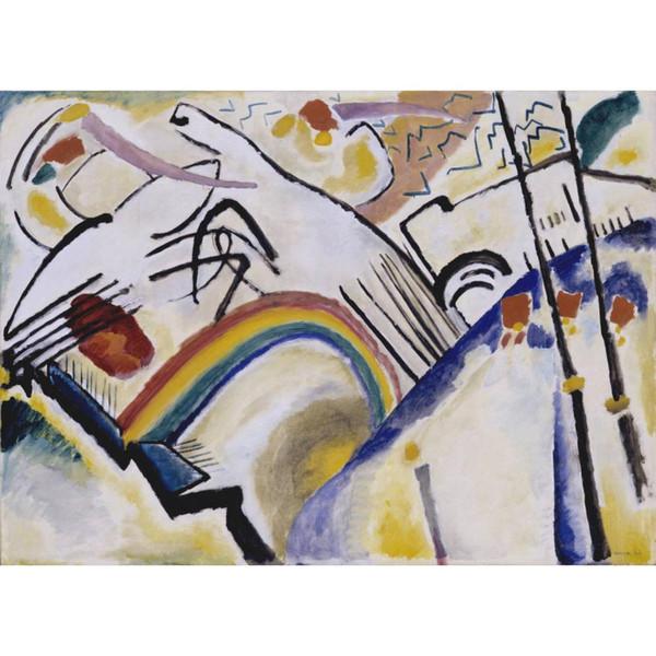 Cosacos de arte moderno de Wassily Kandinsky pinturas sobre lienzo pintado a mano de alta calidad