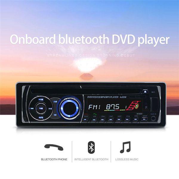 Bluetooth Car Stereo Audio Receiver MP3 Player Remote Control U Disk Card Radio /AUX Audio Input/AM/FM/File