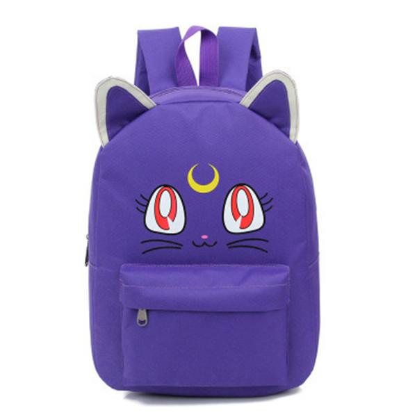 Malidaike Anime Anime Sailor Moon Cartoni animati Tsukino Usagi Luna Cosplay Backpack School Bag