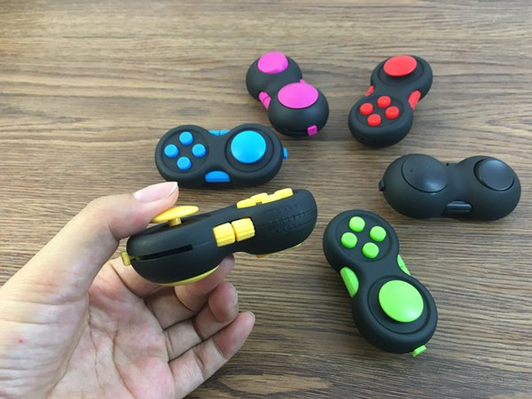 Game Controllers Magic Fidget Pad Cube Gamepad Children Desk Toy Adults Stress Relief Relieves Squeeze Decompression Hand A171077