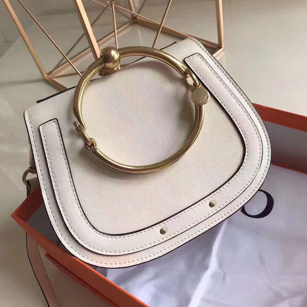 Hot sale women genuine leather High Quality handbag lady real leather crossbody bag cow leather shoulder bag free shipping