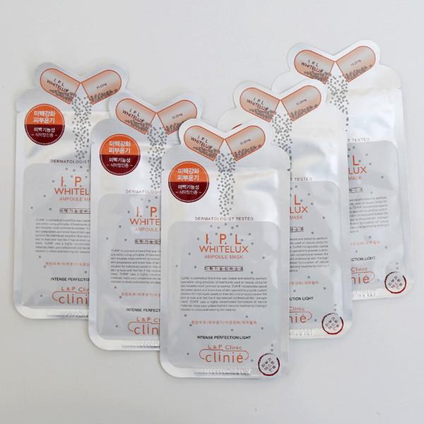 IPL Whitelux Cuidado de la piel Máscara facial Máscaras hidratantes Blanqueamiento Hojas de mascarilla Facial Solución de ampolla de Corea Productos de belleza 25 ml / pcs