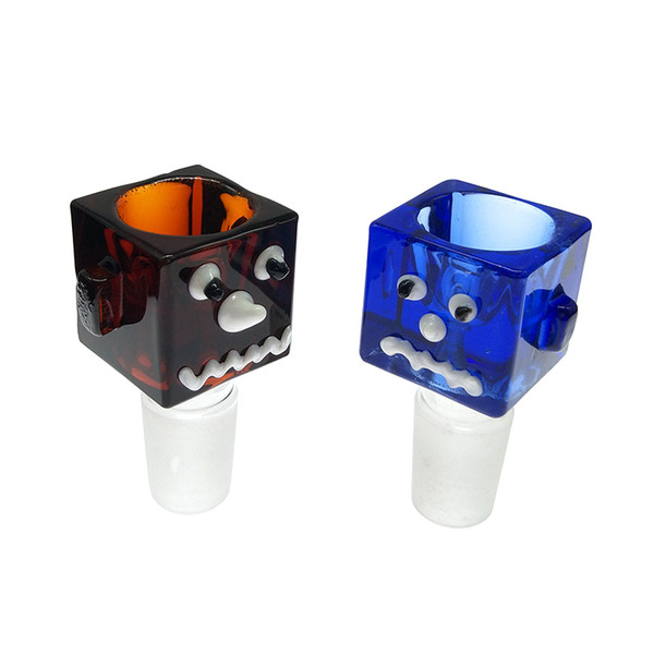 2019 Very Thickness Glass Bong Slides With Handle Bowl 14mm 18mm Male Bowls  Heady Slide Smoking Accessory For Glass Water Pipe Bongs Oil Rigs From