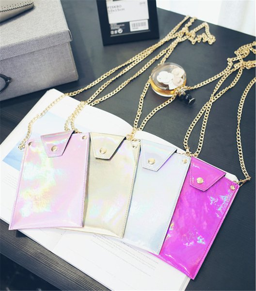 2017 Laser Mobile Phone Bags Shoulder Bags New Arrival Best Selling High Quality Elegant Fashionable Free Shipping