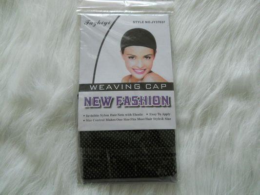 [annecosplay] annecosplay Cosplay Wig Black / Flesh color Weaving Cap Nylon Hair Net with Elastic