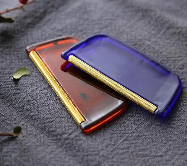 100 pz / lotto maglione di cachemire rasatura macchina da cucire vestiti di tessuto portatile lint remover trimmer rasoio strumento domestico spedizione gratuita