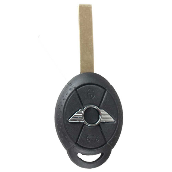Guaranteed 100% 3Buttons Replacement Car Shell Remote Key Case Fob for BMW Mini Cooper Uncut Blade Free Shipping