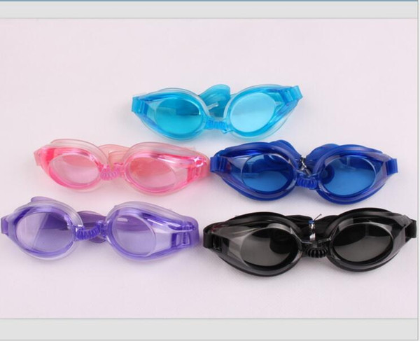 High Quality Antifog Waterproof UV Swimming Mirror Swimming Glasses Goggles Adult Men and Women Free Shipping