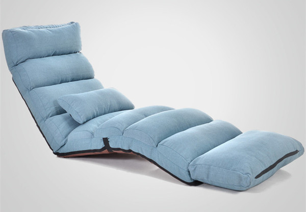 Swell Modern Foldable Reclining Floor Sofa Bed Living Room Furniture Fabric Upholstery Recliner Lounger Sofa Chair Daybed Sleeper Canada 2019 From Klphlp01 Machost Co Dining Chair Design Ideas Machostcouk