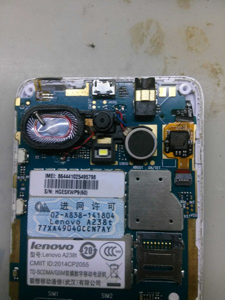 Unlocked used test work well for lenovo A238t motherboard mainboard board card fee chipsets free shipping