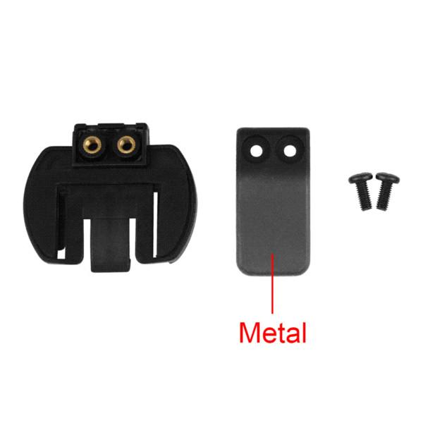 2 PCS Marque Lexin interphone Casque Clip Ensemble Accessoires pour LX-R6 Casque Bluetooth Interphone Interphone Prise Jack