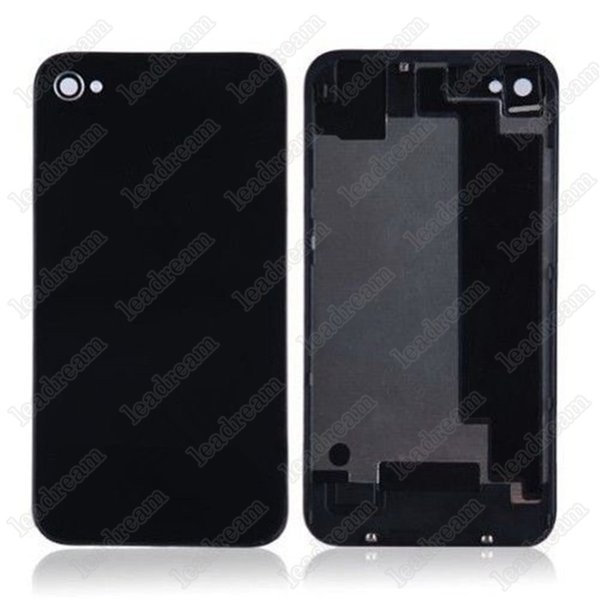 200pcs Back Glass Full Housing Back Cover Battery Cover with Flash Diffuser for iPhone 4 4s