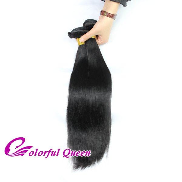 Peruvian Virgin Human Hair Bundles 1pc Peruvian Unprocessed Human Hair Weave Straight Kinky Curly Deep Body Wave Real Hair Can be Dyed