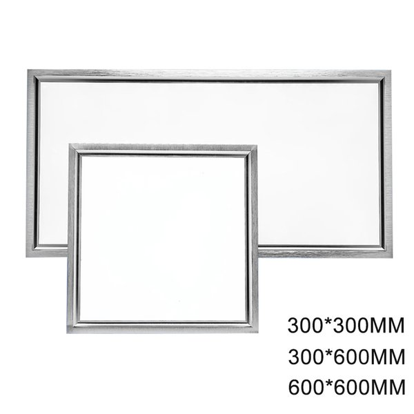 Panel cuadrado LED 18w 300x300,300x600 24W, luz de techo Led 38W 600x600 Panel luz Aluminio Focus con controlador LED