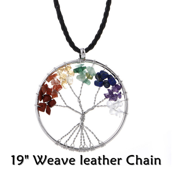 """19"""" Weave leather Chain"""