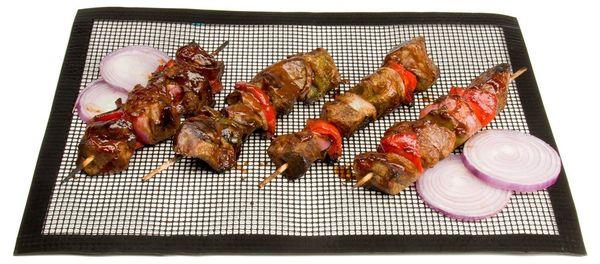 BBQ Grill Matte Antihaft Grillen BBQ Mesh Best Grills Zubehör für Outdoor Traeger, Smoker-Food fällt nicht durch Grates Grill