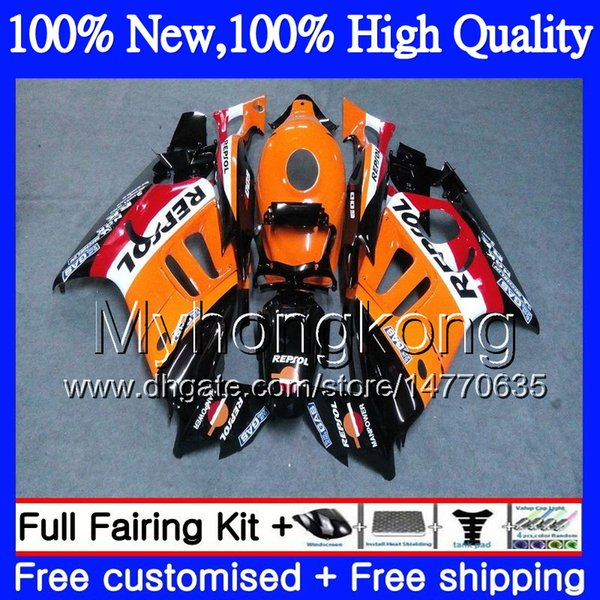 Bodys Motorcycle For HONDA CBR600 F3 CBR600RR F3 CBR600FS 95 96 47MY17 CBR 600F3 FS CBR600F3 CBR 600 F3 1995 1996 Fairing Repsol orange kit