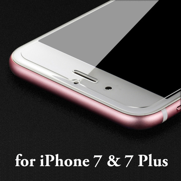 best selling Wholesale 2.5D Tempered Glass Screen Protector for iPhone 8 7 6s plus glass protective film for iPhone 5s 5 se glass film