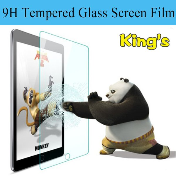"Wholesale- 9H 2.5D 0.3mm Explosion-Proof Toughened Tempered Glass For Lenovo Thinkpad 8 8.3"" LCD Tablet PC Film Clear Screen Protect Cover"