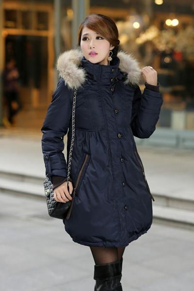 Chaqueta de maternidad para las mujeres embarazadas Duck Down Jackets Fur Hoodie Embarazo Plus Size S-4XL Coat para embarazada