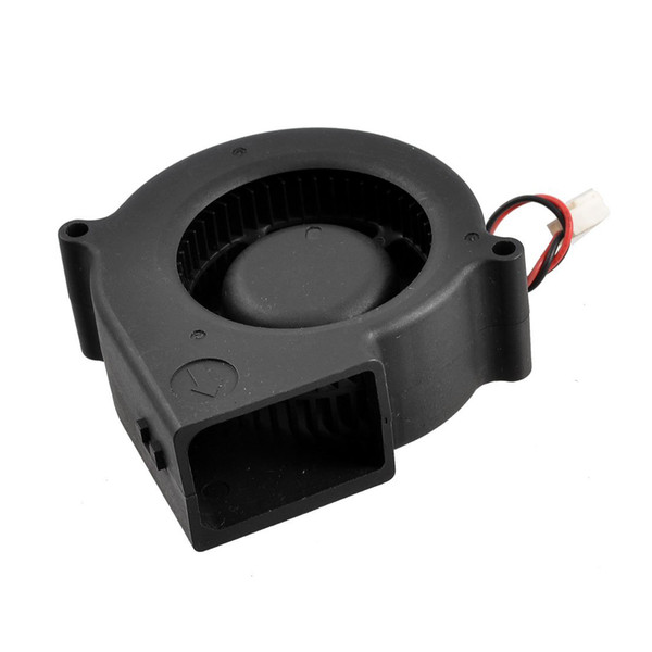 Wholesale- PROMOTION! 75mm x 30mm DC 12V 0.36A 2Pin Computer PC Blower Cooling Fan