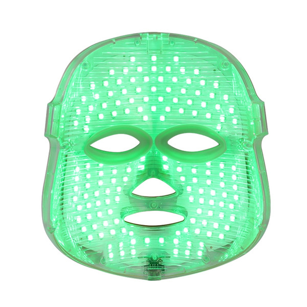 2017 Newest arrival 7 colors led light therapy mask wrinkle removal facial machine mask home use CE approval DHL Free Shipping