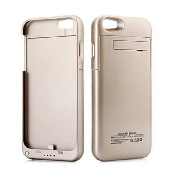 Iphone 8 için Artı Harici Pil Yedekleme Güç Bankası Şarj Kapak Kılıf Powerbank kılıf iphone 7 6 6 s Artı 4.7