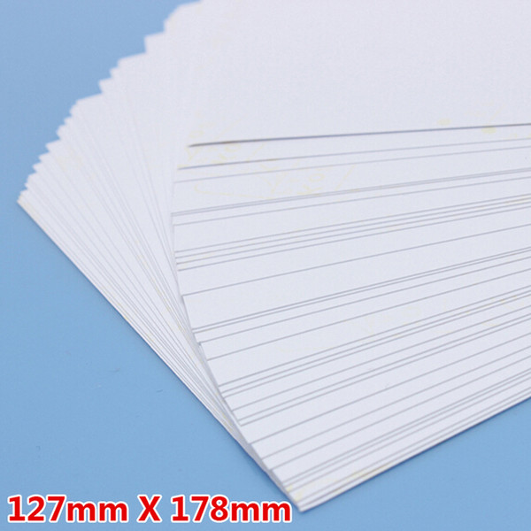 100 Sheet /Lot 5R Photo Paper High Glossy High Quality Fashion 127*178mm School Office Home Single-sided Printing Paper Material Escolar