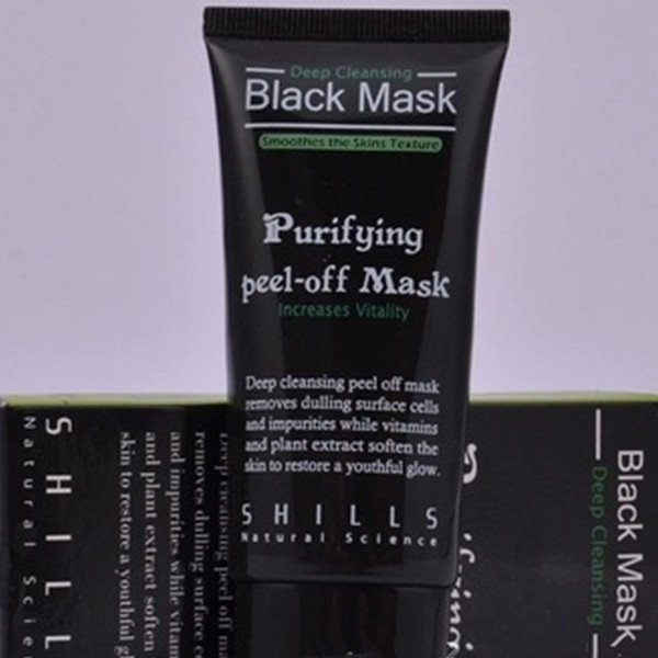 Deep Cleansing Shills Black Mask Remover Nose Pore Facial Mask Purifying Peel Off Mud Mask Acne Blackhead Removal