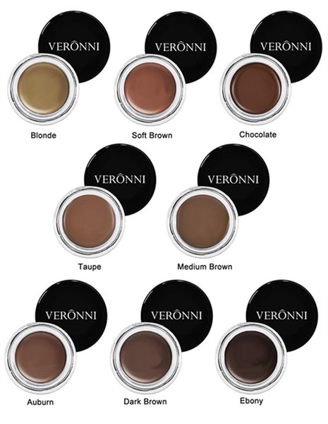 Spot VERONNI 8 color makeup to resist s weat and persistent brow toning cream nourishing cream