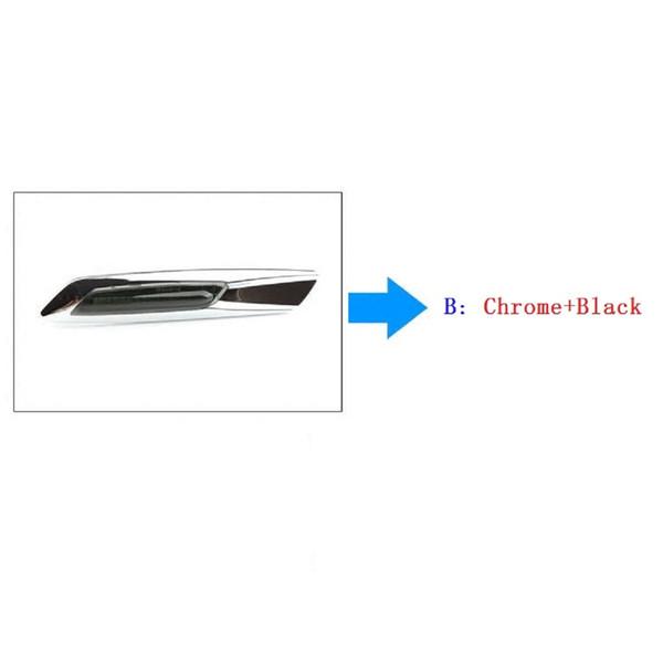 B : 크롬 + 블랙