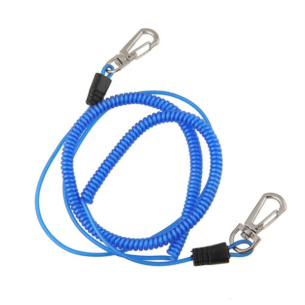 Wholesale- 3m Braid Safety Safe Boat Fishing Lanyard Cable Heavy Duty Rope Release Colorful Multicolor