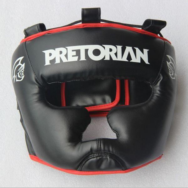 Brazil Mma Brand Pretorian Kick Boxing Helmet Closed Type Boxing Head Guard Sparring Mma Muay Thai Kick Brace Head Protection Gear