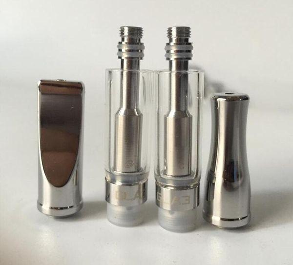2017 christmas gifts e cigarette pyrex glass tank refillable atomizer vape cartridge GLA3 dual coil free shipping free sample