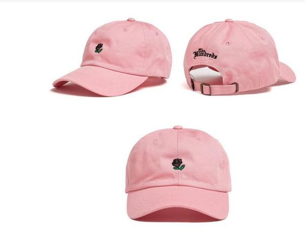 7266db14d 2016 gorra de béisbol rosa sombreros y gorras snapback para hombres /  mujeres marca deportes Hip