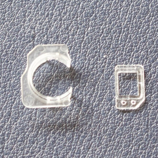 Proximity Lichtsensor Halter Vorne Kamera Kunststoff Clip Ring Ersatzteile Für iPhone 5 5C 5 S 6 plus 6 s plus