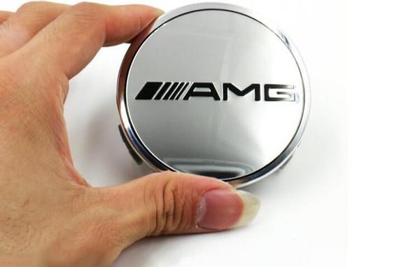 Hot sale WITH DHL 75mm Car Wheel Center Hub Cover Caps Logo Emblem For Mercedes Benz W203 W210 W211 AMG W204 C E S CLS CLK CLA SLK CLASS