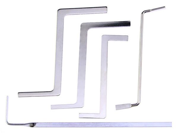 5 Pcs Ferramentas de Serralheiro Multifunções de Bloqueio de Metal Picking Tension Wrench Push Rod Haste de Rotação Ferramentas Lock Pick Tools Set Locksmith Fornecimento