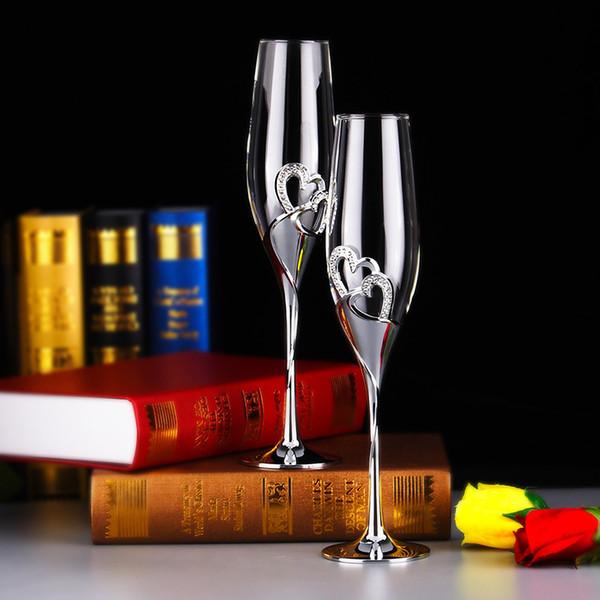 Crystal Champagne Glass Creative Fashion Multi Function Wedding Bar Goblet Transparent High Quality Cups Hot Sale 38tt J R
