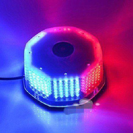 240 LED Truck Car Roof Top Flash Strobe Emergency Hazard Warning Light Red&Blue