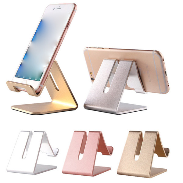 Universal Aluminum Metal Cell Phone Tablets PC Desk Stand Holder Support Bracket OTH346
