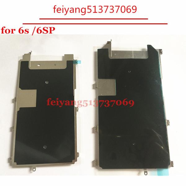 50pcs NUOVO Con Dissipazione di Calore Piastra LCD Adesiva Piastra in metallo per iPhone 6S 4.7