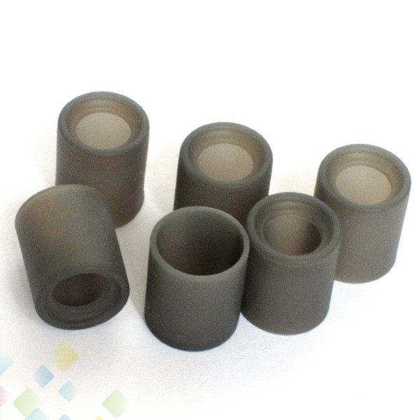 top popular Soft Silicone Test Caps Wide Bore Disposable Drip Tip Cover Rubber Mouthpiece Tester Wide Bore Drip Tips Atomizers DHL Free 2021