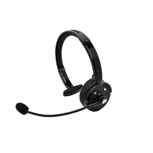 BH-M10B Over-The-Head Boom Mono Multi-punto inalámbrico Bluetooth Auriculares Auriculares Mic para Smart Phone Driver PS3, envío gratis