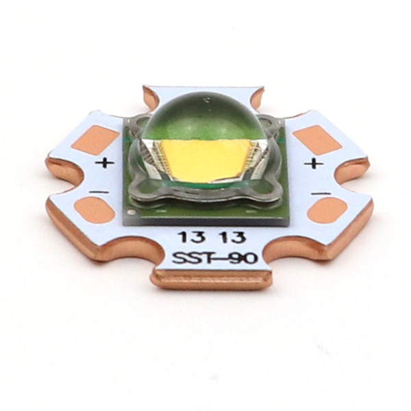 1 Piece Luminus SST-90 LED Module Chip diode bulb 6500k cool white 30W 2250 Lumens SST90 LED Emitter with 20mm Copper Board