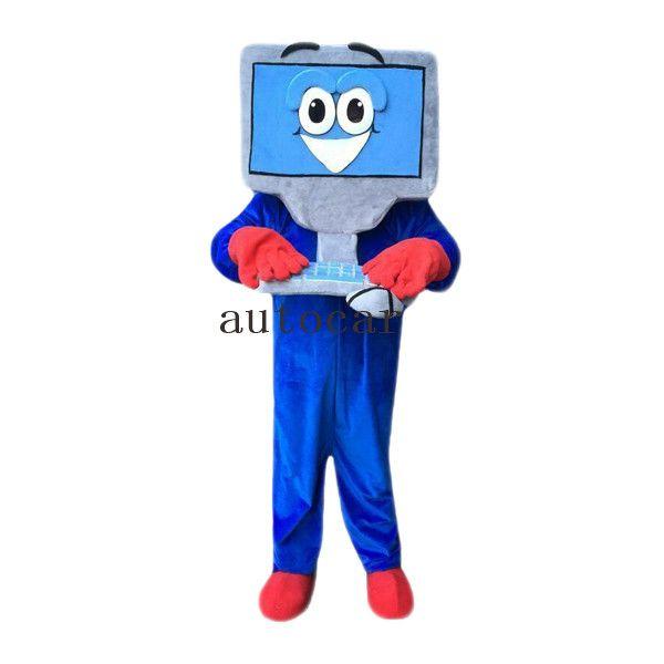 the computer Cartoon Character mascot Costume Custom Products custom-made free shipping