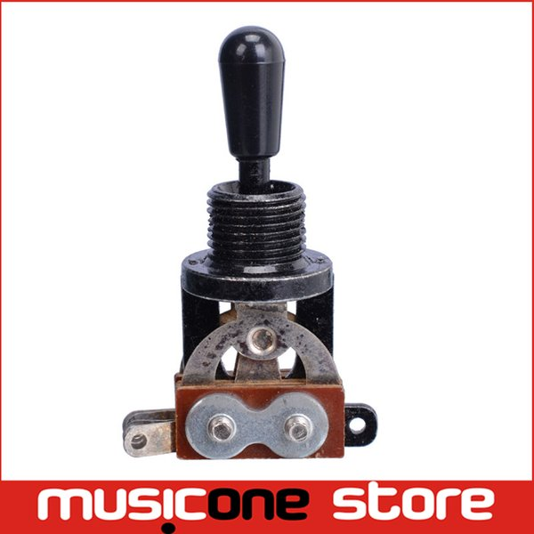 top popular Black Metal 3 Way Toggle Guitar Switch For Electric Guitar 2019