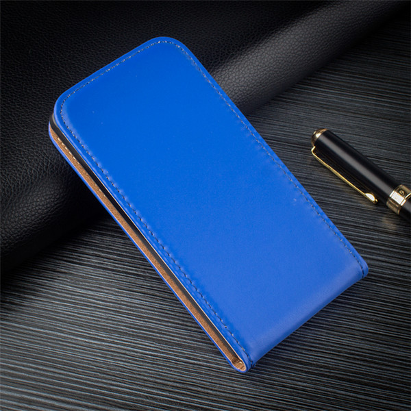 Luxury Phone Case Magnet Vertical Flip Full Body Leather Cases UP and down Smartphone Cover for htc 10