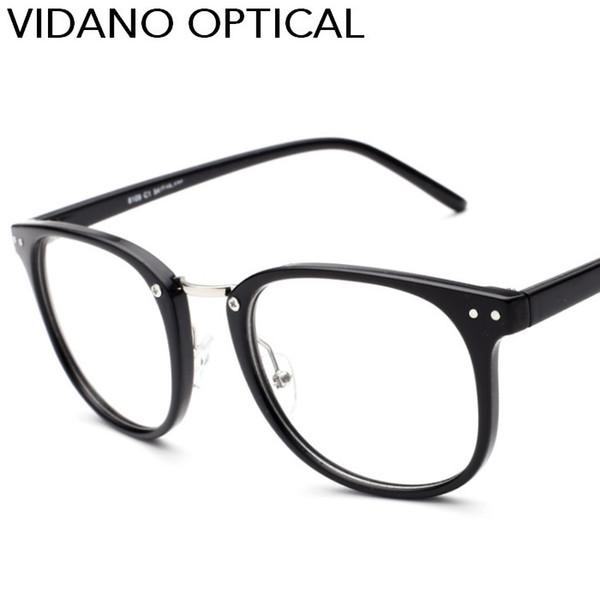 Vidano Optique 2017 Nouvelle Arrivée Grand Carré Lunettes Pour Hommes Femmes Intelligente Élégant Designer Lunettes Rétro Chaude Casual UV400 Lunettes