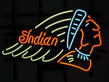 """Indian Queen Neon Sign Custom Handmade Real Glass Home Decoration Art Beer Bar KTV Motel Club Display Neon Signs 24""""X20"""" Sales Promotion"""